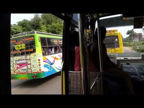 Raman bus(Villupuram to Pondy) rash driving.
