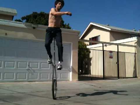 Jimmy Mungo 5 Foot Unicycle Balance Practice