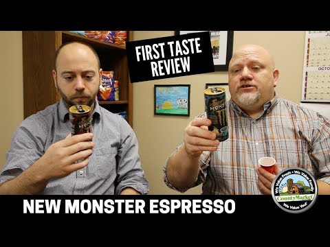 Monster Espresso: First Taste Review from Two Bald Guys