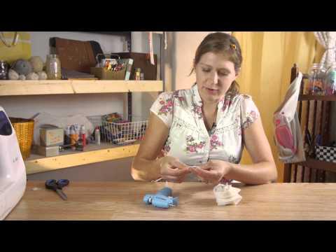 Tutorial for Handmade Clip & Brooch Chiffon Flowers : Shirt Crafts