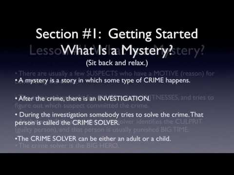 What is a Mystery? (A Short Writing Lesson for Kids 8-12)