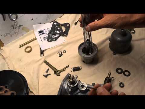 Rebuilding a H6 SU Carburetor on a Triumph TR3