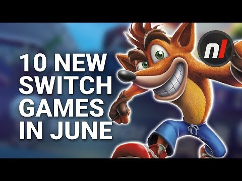10 Great New Games Coming to Nintendo Switch in June
