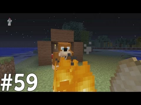 Minecraft Xbox - Sky Island Challenge - Camping Trip!! [59]