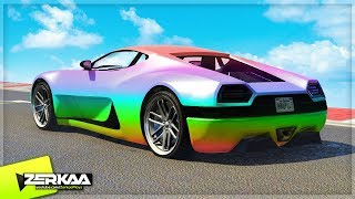 MY NEW CAR COLOUR? (GTA 5)