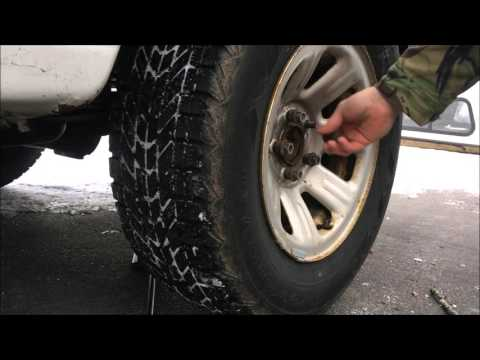 How to replace tires - Ford Ranger (flat, spare, winter vs summer tires)