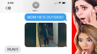 SCARY TEXT MESSAGES PEOPLE GOT AT 3am