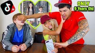 My Friend Mason & My Dad React To My TIK TOKS!! *I Cried*   Familia Diamond