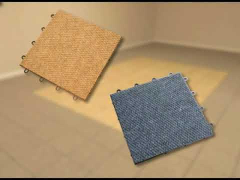 ThermalDry Flooring for warmer basement floors