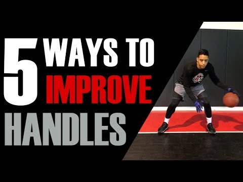 Top 5 Ways To Improve Your Handles | Dribbling Workout | Pro Training Basketball