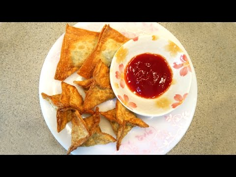 Spinach and Cheese Wontons - Super Simple Super Nutritious!