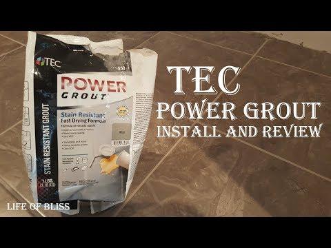 TEC Power Grout Review | Basement Build 14
