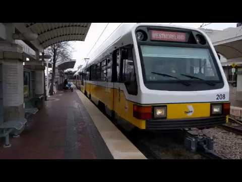 DART #208 and #203 Departing Union Station