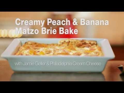 Creamy Peach & Banana Matzo Brei Bake Kosher For Passover Recipe   Joy of Kosher