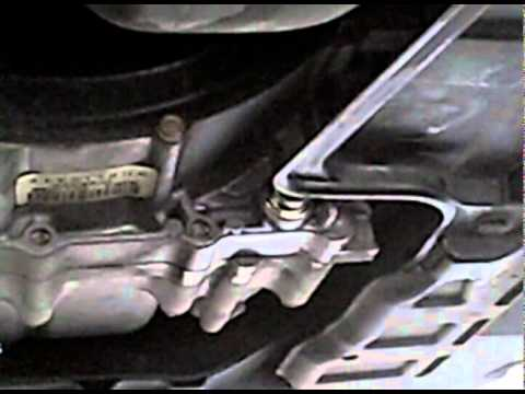 2003 Honda Element automatic transmission fluid drain and fill
