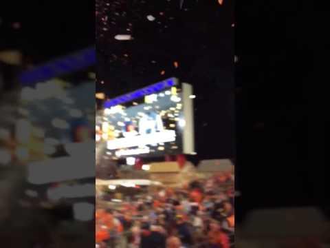 Clemson Confetti Bomb National Title