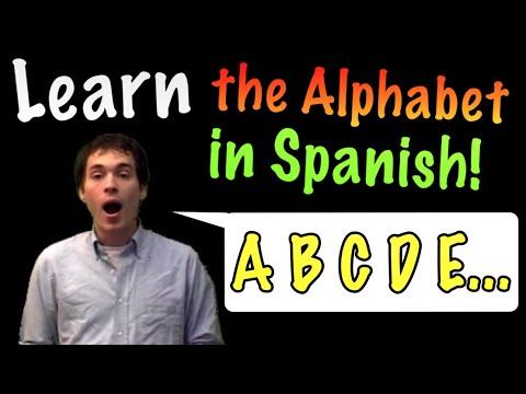 Learn Spanish! - the Alphabet