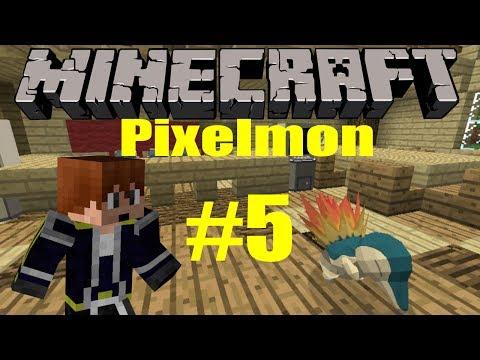 Minecraft: Pixelmon Let's Play - Episode 5 Pokeballs and Catching Pokemon