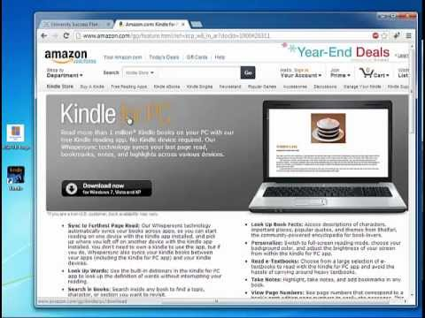 How to Read Kindle ebook in Windows PC