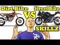 Dirt Bike Skills VS Street Bike Skills - Explained