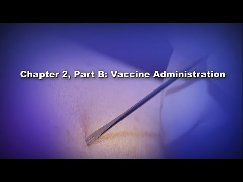 Chapter 2, Part B: Vaccine Administration