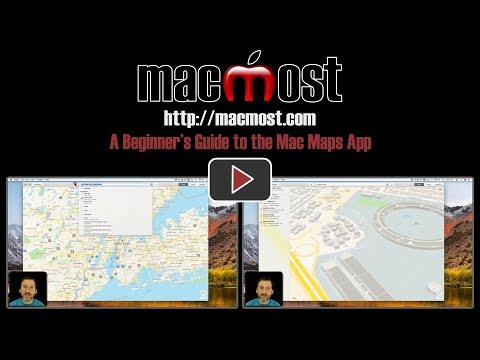 A Beginner's Guide to the Mac Maps App (#1611)