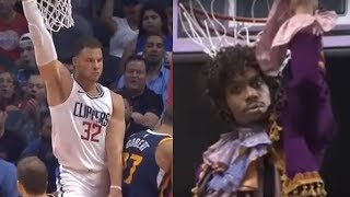 Blake Griffin Impersonates Dave Chappelle
