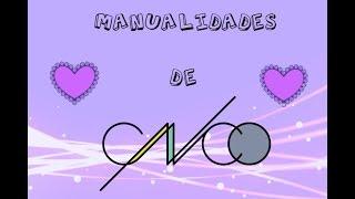 Manualidades de CNCO!!