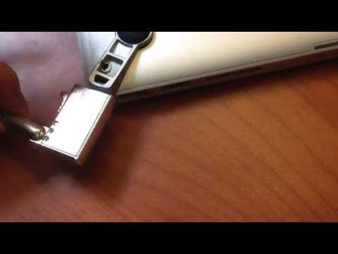 How to insert your MacLock into your MacBook Pro