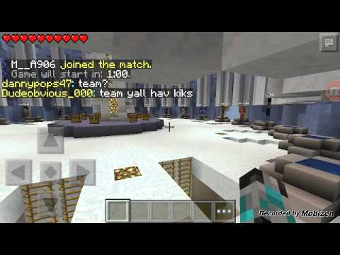Minecraft pe hunger games lifeboat server