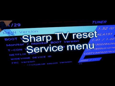 3 ways to reset TVs, Sharp TV fix review