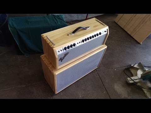 How to Build a Solid-Pine Head for a Fender Twin Reverb with Dovetails