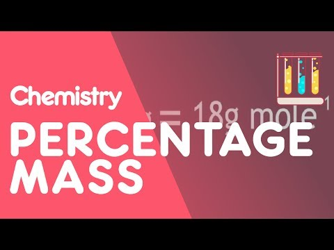 How to calculate Percentage Mass | The Chemistry Journey | The Fuse School