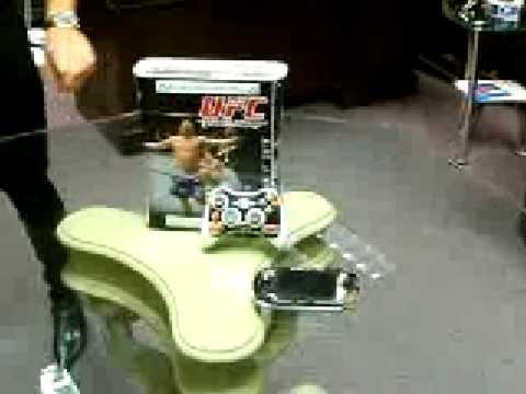 UFC Game Metal Skin XBOX360 PS3 PSP
