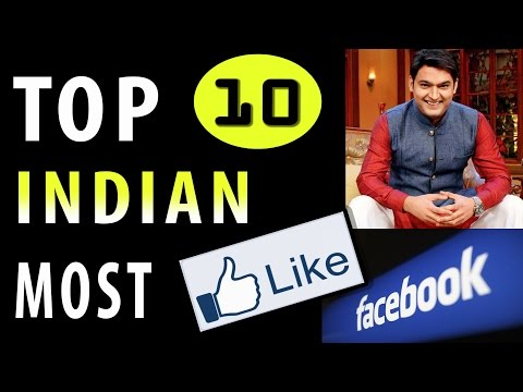 TOP 10 INDIAN CELEBRITIES Popular on FACEBOOK with Highest  PAGE LIKES
