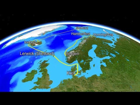 Corona Borealis 2.1, Kiel to Lerwick (Scotland)