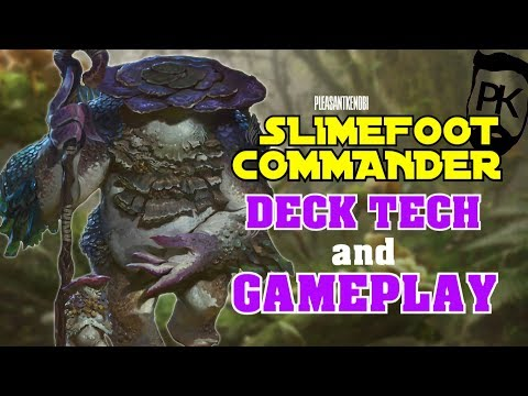 Dominaria - Slimefoot EDH and COMMANDER - Deck Tech and Gameplay - MTG