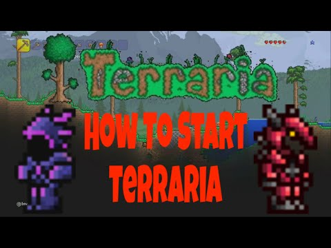 PATCHED: Terraria: How To Start Terraria Strong [Getting Shadow Armor/Crimson Armor Early] (Console)