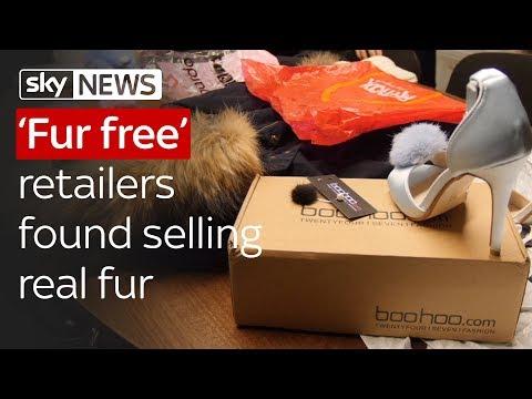 'Fur free' retailers found selling real fur