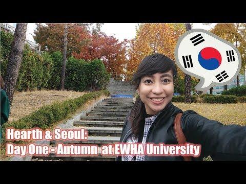 Travel Vlog: Ewha University, Myeongdong, CHICKEN AND BEER | 01 | SOUTH KOREA (2017)
