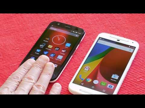 Comparison: Moto G (1st Gen LTE)/Moto G (2nd Gen)