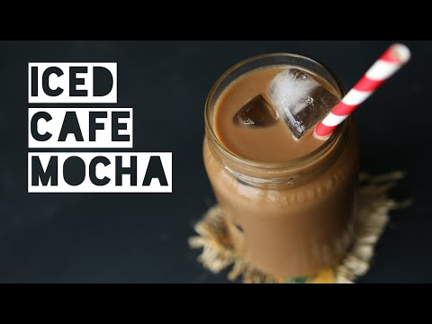 How To Make A Low Calorie Dairy Free Cafe Mocha | Healthy Cafe Mocha Energy Drink Recipe