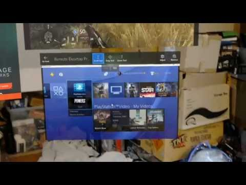 Microsoft HoloLens playing PlayStation 4 and Xbox One Titanfall 2 Tech Test
