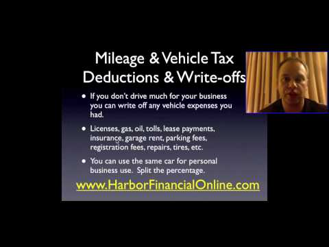 Getting the Most From the Mileage Tax Deduction & Write Off for 2012, 2013