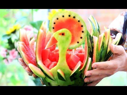 Creative Food Ideas | Fun Food For Kids | Watermelon Carving
