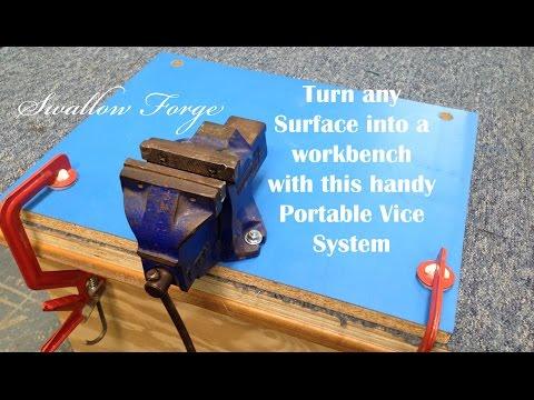 Build a versatile removable Vice Mount : Swallow Forge No. 21