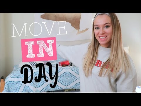 COLLEGE MOVE IN DAY VLOG 2018!