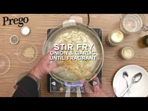 Prego Fettuccine Carbonara - 60secs Video Tutorial