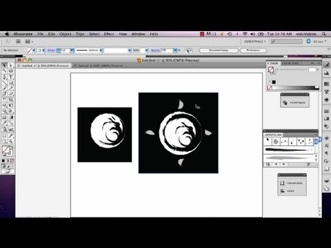How to Invert Colors in Illustrator for Screen Printing : Adobe Illustrator
