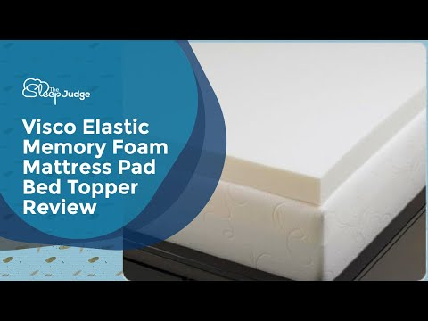 Queen Size 3 Inch Thick, 4 Pound Density Visco Elastic Memory Foam Mattress Pad Bed Topper Review